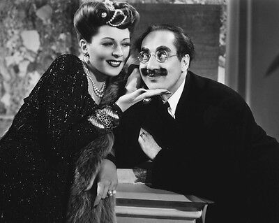 Groucho Marx, Lisette Verea photo - B2574 - A Night in Casablanca
