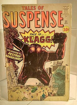 Tales of Suspense #21 (1959) 1.0 FR Kirby/Ayers