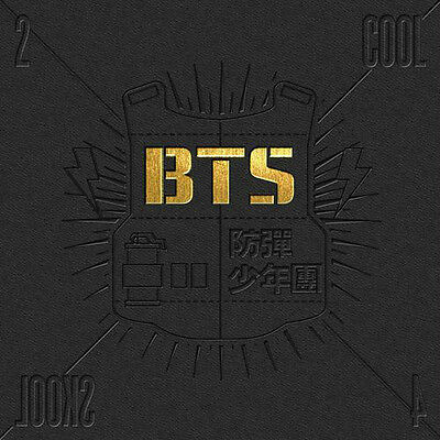 BANGTAN BOYS BTS - 1st Single Album [ 2 Cool 4 Skool ]