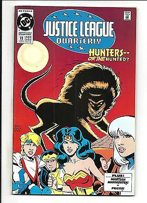 JUSTICE LEAGUE INTERNATIONAL QUARTERLY # 11 (Summer 1993), VF+
