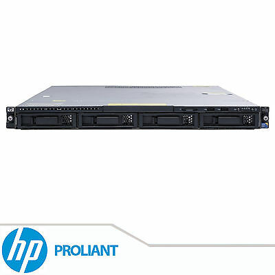 HP ProLiant DL160 G6 2x Xeon Quad Core E5506 8GB DDR3 RAM 1U Rackable Servidor