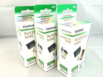 9 Rollsl FUJI FUJIFILM Natura 1600 35mm Color film 36 Exps Made in Japan