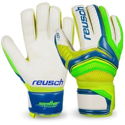 NEW- Reusch Repulse SG Finger Support Goalkeeper Gloves- 100% Official Reusch
