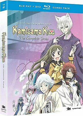 Kamisama Kiss . The Complete Series . Anime . 3 DVD + 2 Blu-ray . NEU . OVP