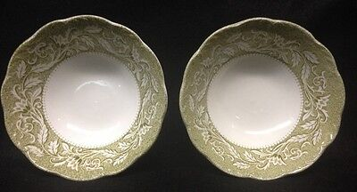 J G Meakin Stering Renaissance 2 Cereal Bowls Exc