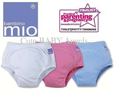 Bambino Mio Child Pull Up Training Pants Potty Train Underwear 3 Colours & Sizes