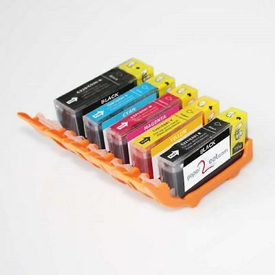 Multipack of 5 x PGI-220 / CLI-221 Refillable Edible Ink Cartridges Canon iP3600