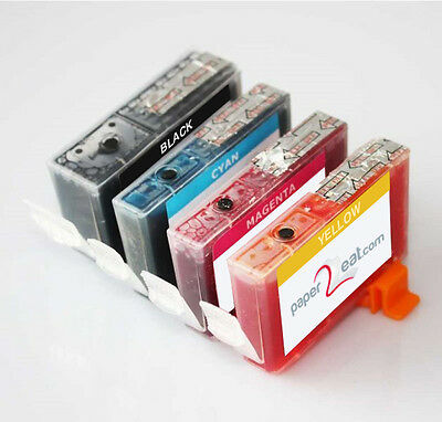 Multipack of 4 x CLI-226 Refillable Edible Ink Cartridges for Canon MX892