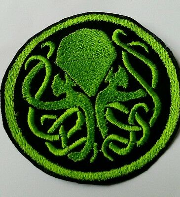 Cthulhu embroidered patch