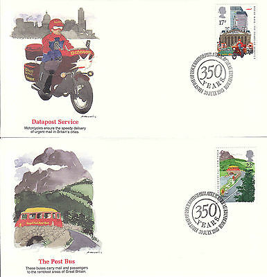 Great Britain 1985 Royal Mail FDC Sc# 1176/9 (4) covers Fleetwood cachet-WW7285