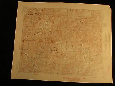 Kaweah California 1955 vintage USGS Topographical chart map