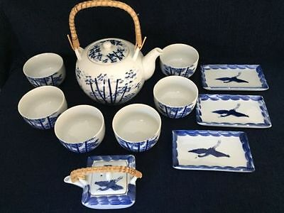 Japanese teapot set with Extras