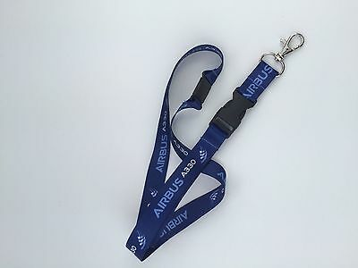 Airbus A330 Dye Sublimation Lanyard
