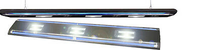 Real-LED-light 3x60W+ 2x15W 180cm black Aquarien LED Hängelampe