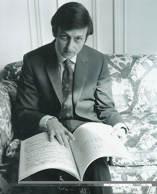 Andre Previn Unsigned Photo - 1034 - Pianist, Conductor And Composer