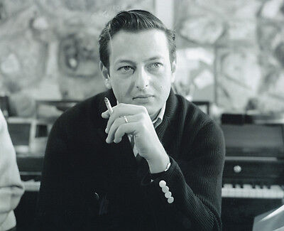 Andre Previn Unsigned Photo - 1036 - Pianist, Conductor And Composer