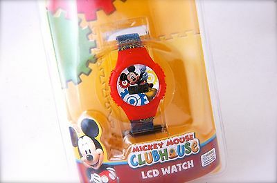 Mickey Mouse Clubhouse Junior Wrist Llc Watch Red & Blue