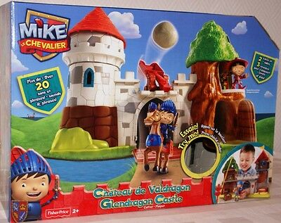 Fisher Price BCT44 -  Mike the Knight Ritterburg / Mike Chevalier Château NEU