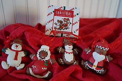 Christmas Around the World Ginger Nuts Ornaments