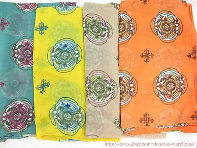 US SELLER |wholesale lot 10pc  large scarf beach sarong fashion accessories