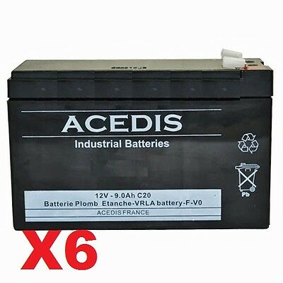 Batterie 12v pour onduleur EATON Powerware PW9130i3000R-XL2U