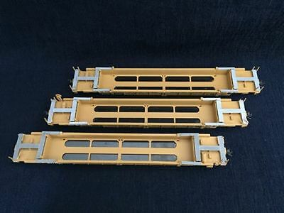 HO 48' DTTX Well Cars #25017 #25064 #25057  Used Lot of 3