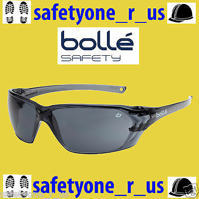 2x pairs Bolle Safety Glasses - Prism - Smoke Lens Sunglasses UV400 rated