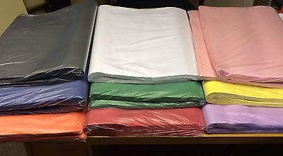 10 Acid free tissue paper all colours available 500x750mm quality gift paper