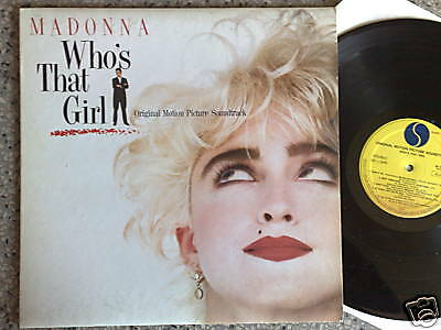 RARO LP 33 giri MADONNA 1987  WHO'S THAT GIRL