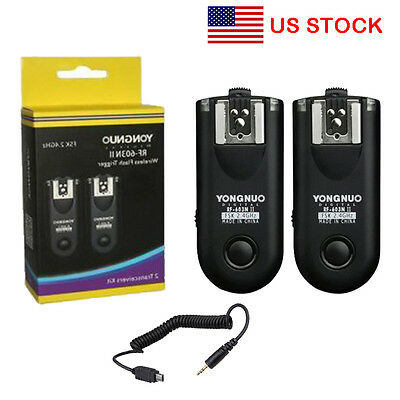 Yongnuo RF-603 II N3 Radio Wireless Remote Flash Receiver Trigger for Nikon US