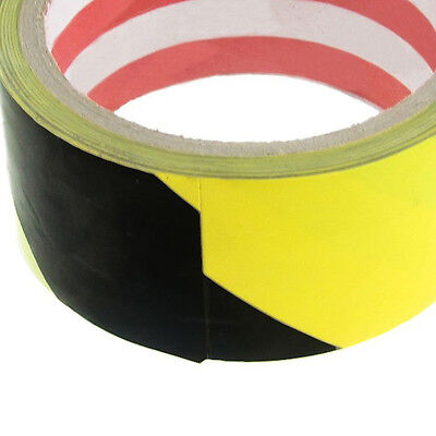 B3 32.8Ft 10 Meters Black Yellow Floor Adhesive Safety Caution Tape