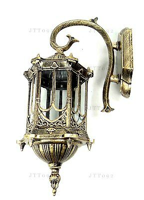 E27 Luxurious quality Vintage Barbs Six Side Metal Indoor Pendant Light Sconce