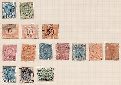 (OQ-63) 1963-7 Italy mix of 40stamps 5c to 500l mixed condition (B)