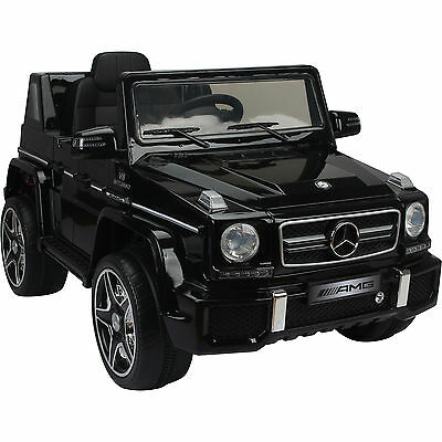 Mercedes G63 Wagon AMG Licensed 12v Ride On Jeep 2016 Model - 3 Colours
