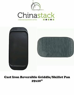 Cast Iron Ribbed Griddle Pan/ Skillet Pan /Griddle Plate /Cooking Plates