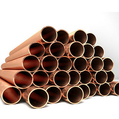 Various 6mm/8mm/10mm/15mm/22MM COPPER TUBE/PIPE PLUMBING/WATER/GAS/DIY/NEW