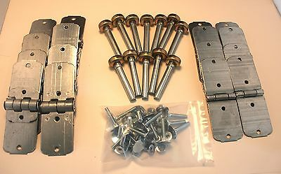 Todco Style Box Truck Door Hinge and Roller Kit