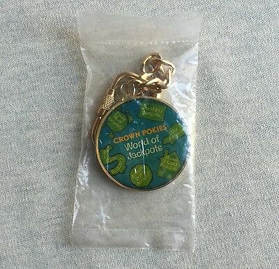 "CROWN Casino ""CELEBRATE 2000"" MILLENIUM Pokies LIMITED Edition KEYRING Numbered"