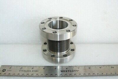 "Metal Flex 1026177 3.38"" Conflat Flange Rotatable Non-Rotatable Bellows"