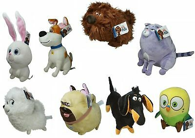 Plüschfiguren The secret Life of PETS, 8 Figuren zur Auswahl, 24 - 36 cm