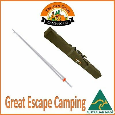 10 x 9ft (274cm) GALVANISED ADJUSTABLE HEAVY DUTY TENT POLE AUS MADE WITH BAG