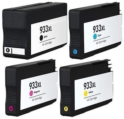 4 Non-Oem 932Xl 933Xl Ink Cartridges Hp Officejet 6100 6600 6700 7110 7610 7612