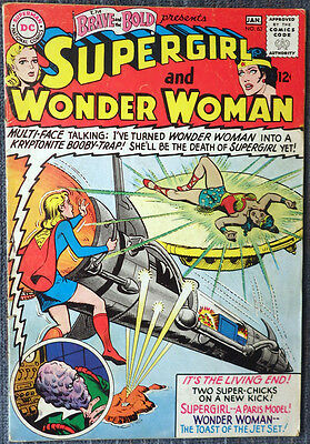 Brave and the Bold #63 - Supergirl and Wonder Woman! Revolt of the Super Chicks!