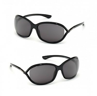 2a2b89ddc86ac3 Authentic Tom Ford FT008 199 Jennifer Oversized Italy Lens Sunglasses  Shades New
