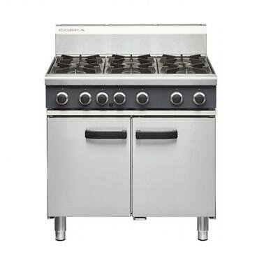 NEW MODEL Cobra CR9D 6 Gas Burner with Static Gas Oven NAT or LPG Moffat