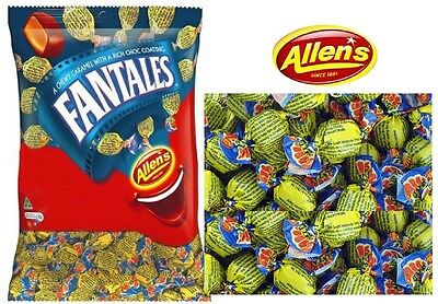 1 x Allens Fantales 1 kg Lollies Bulk Party Favours Sweets Party Favor Candy