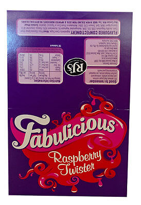 90 Pieces x Wonka Raspberry Twister 1 kg Party Favours Sweets Bulk Confectionery • AUD 14.18