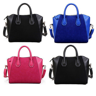 Women Leather Shoulder Handbag Ladies Messenger Satchel Crossbody Bag Tote Purse