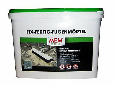 mem fix fertig fugenm rtel 12 5 kg steingrau. Black Bedroom Furniture Sets. Home Design Ideas