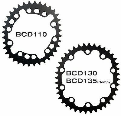 DOVAL Road Inner Chainring Hard Anodized BCD110/130/135 for Shimano,Campy,Sram